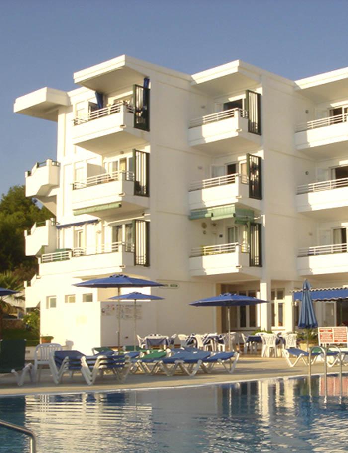 Apartamentos-piscina
