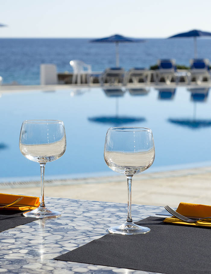 Restaurante-piscina